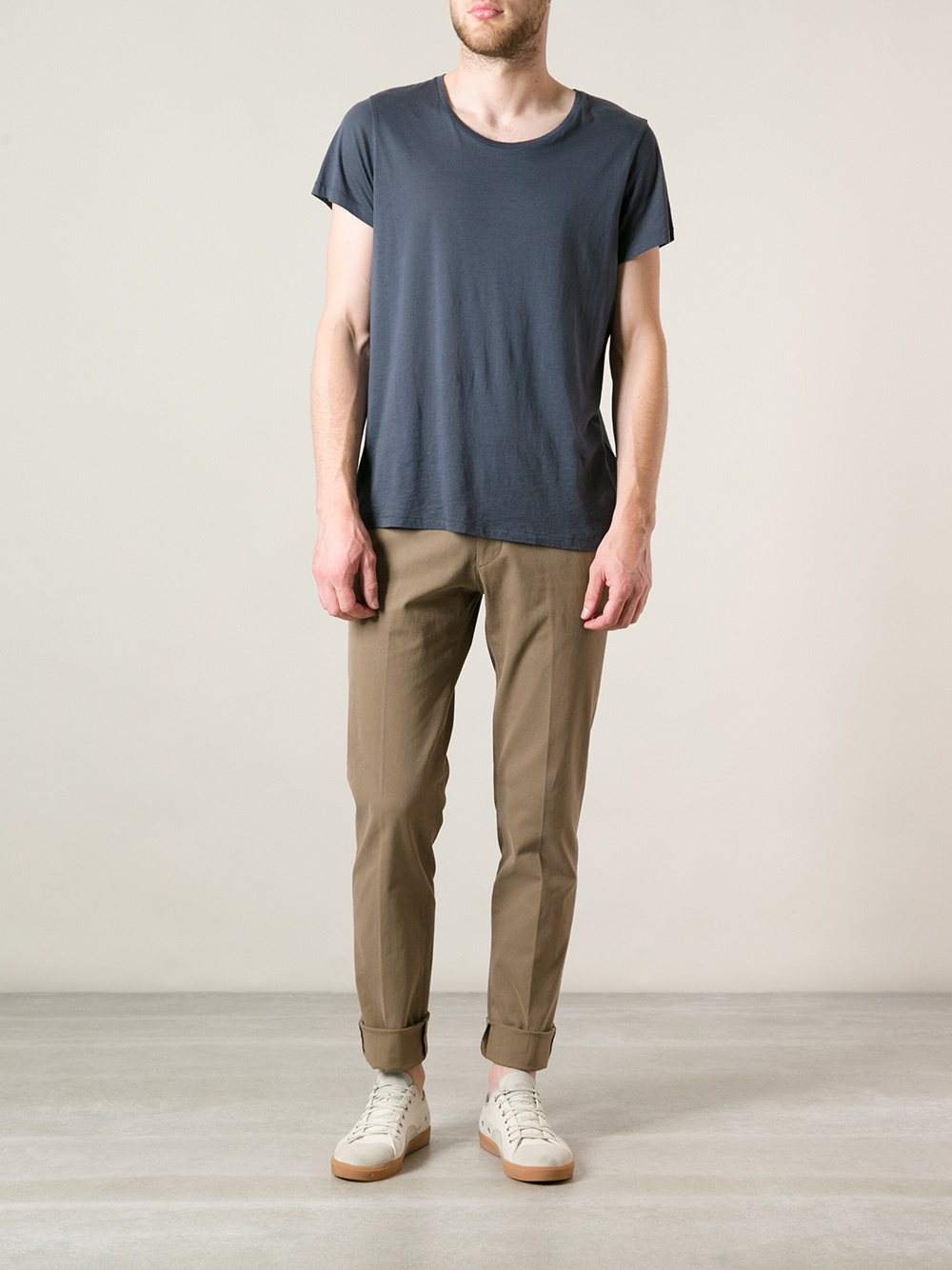Giab's Slim Fit Trousers in Brown for Men
