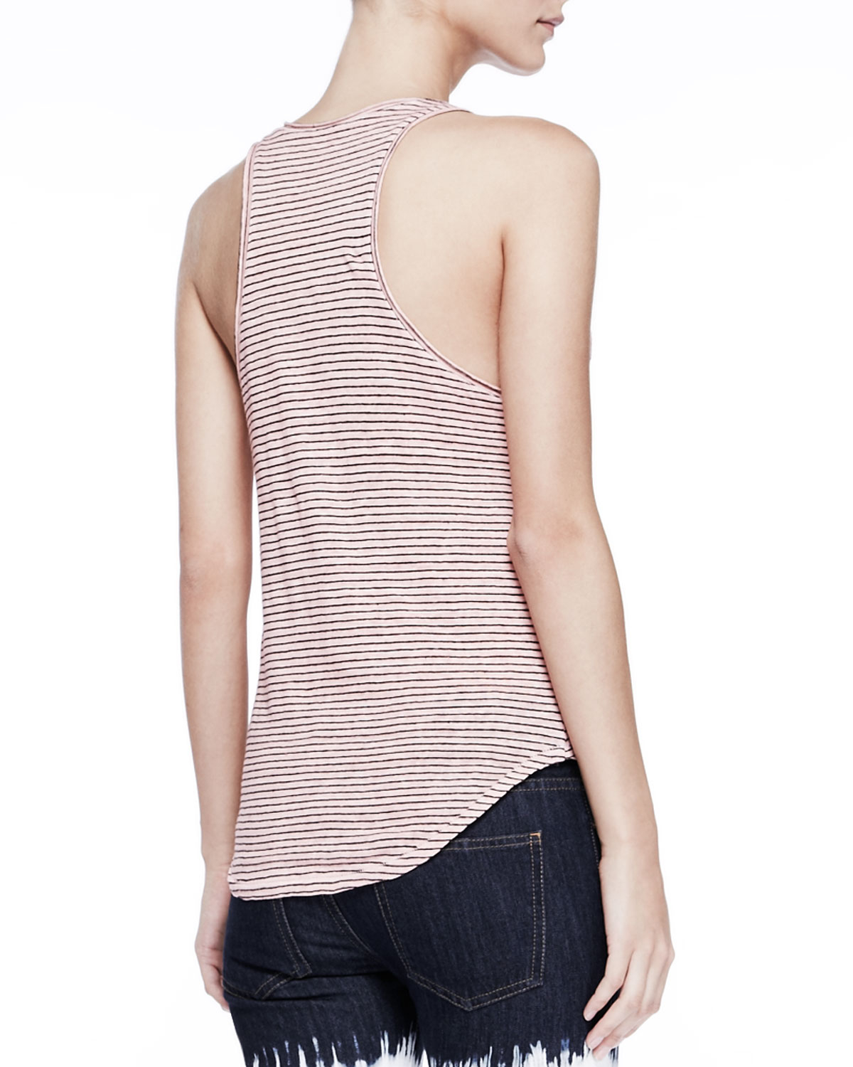 Cheap Online Sale Real striped sleeveless top - Pink & Purple Isabel Marant Marketable For Sale Cheap The Cheapest Clearance New Styles 0086fvv1