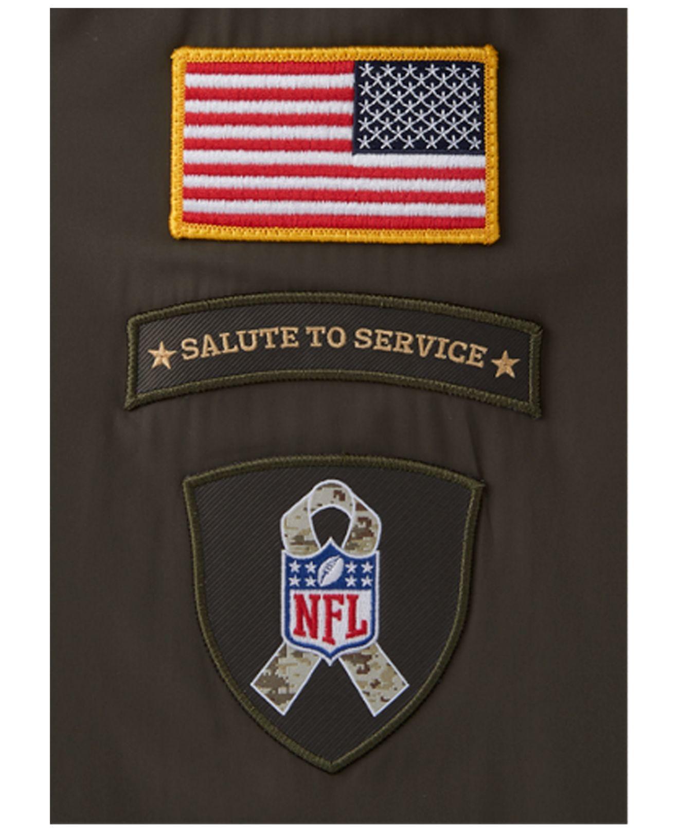 ... Nike Mens Detroit Lions Salute To Service Hybrid Quarter-zip ... 57c860298