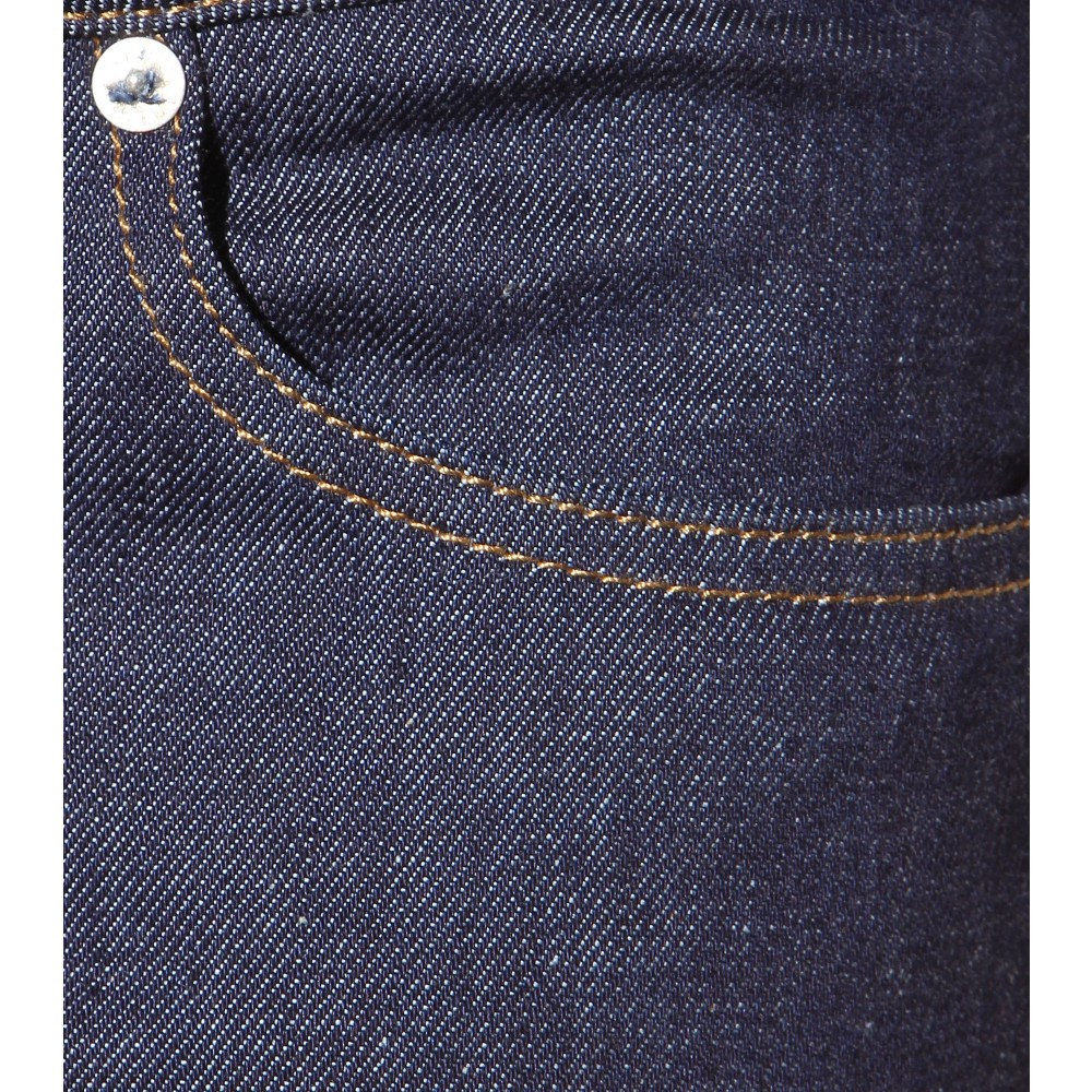 Acne Studios Low Raw Reform Jeans in Blue