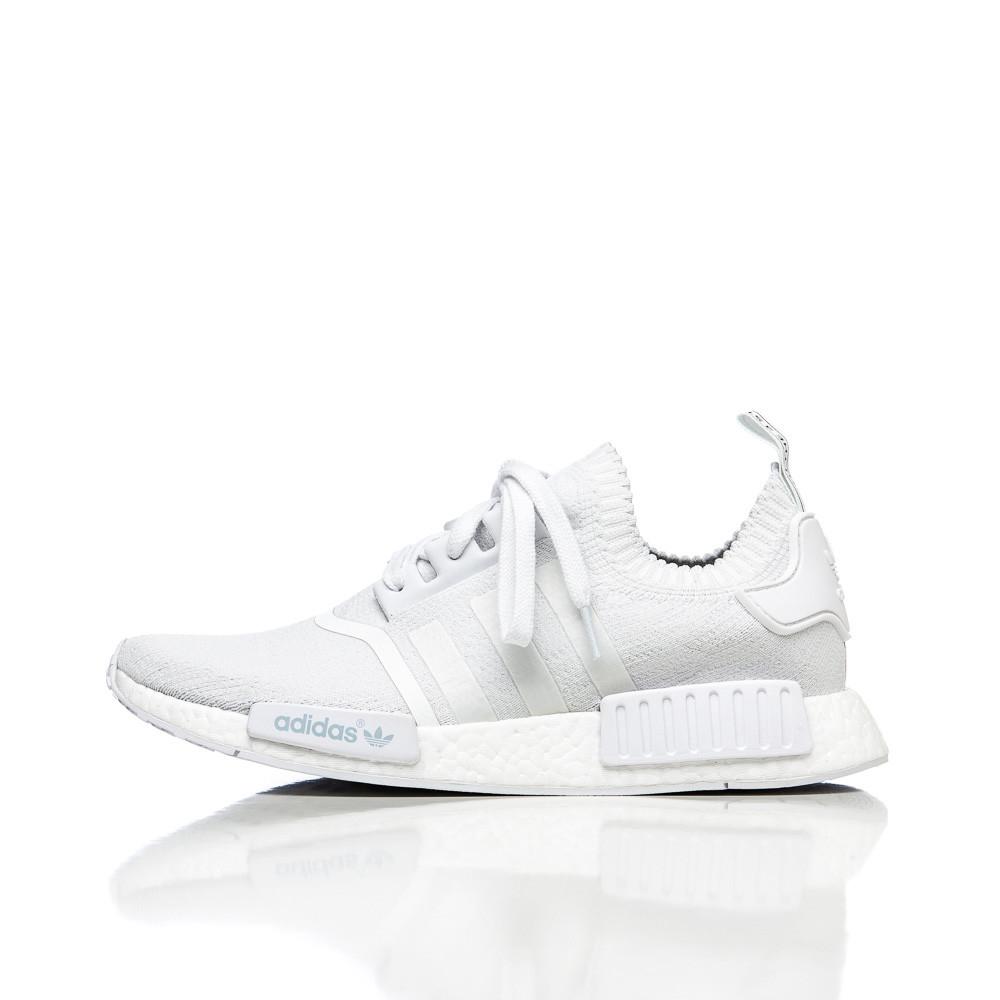 Adidas Nmd R1 All White Mens Ba8d2b