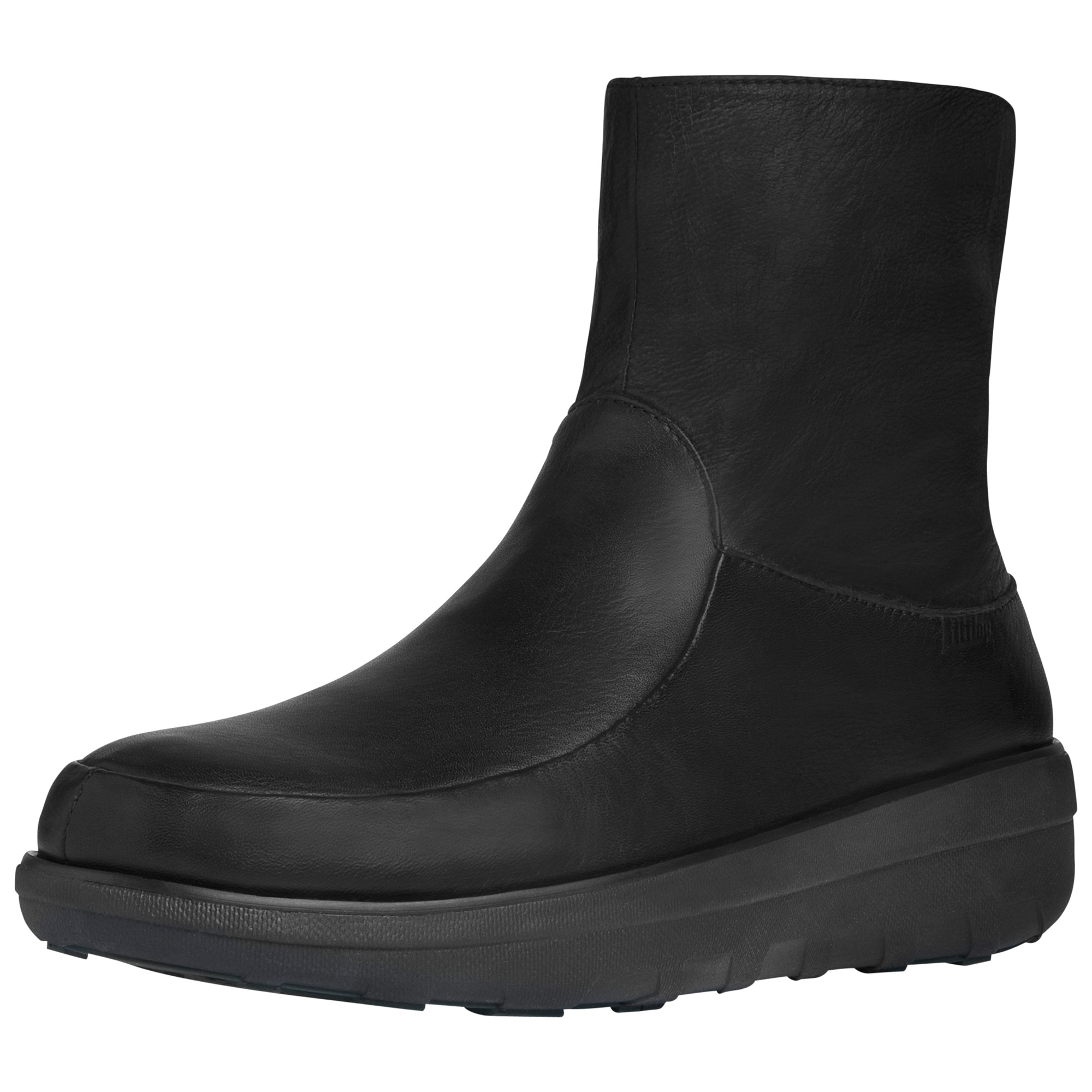 Fitflop Loaff Shorty Ankle Boots in Black