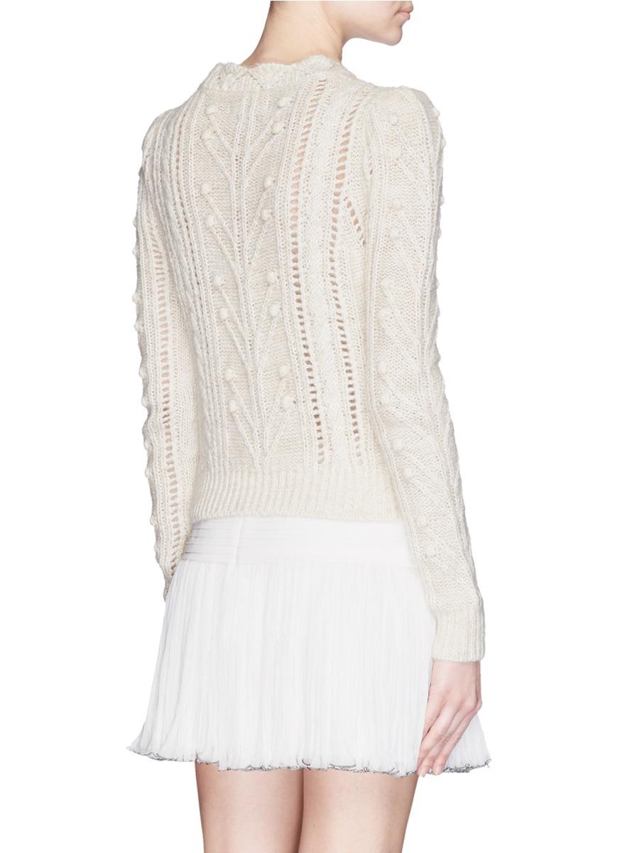 Irish Cable Wool Sweater 73