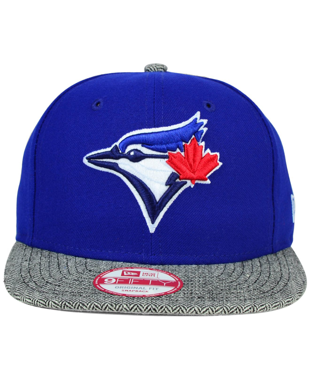 ef3b95951ce Lyst - KTZ Toronto Blue Jays Premium 9fifty Snapback Cap in Gray for Men