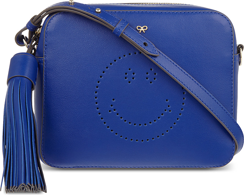 Amazing Price Cheap Online crossbody bag - Blue Anya Hindmarch Cheap Sale Clearance Store Free Shipping 100% Authentic Outlet How Much k6FWE