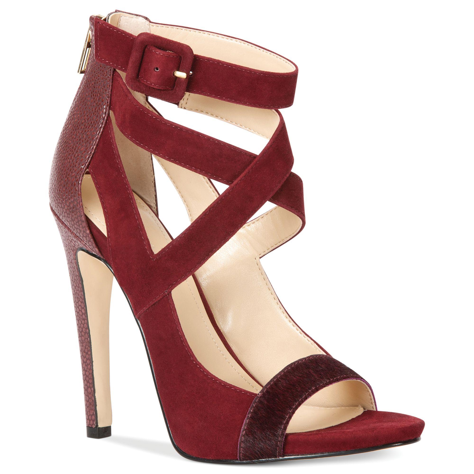 b2a99db7ac7 Calvin Klein Red Womens Saren Sandals