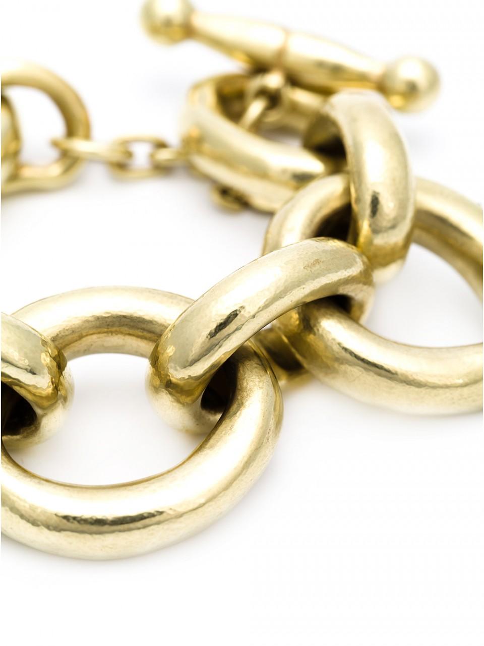 Lyst Vaubel Large Link Oval Bracelet In Metallic