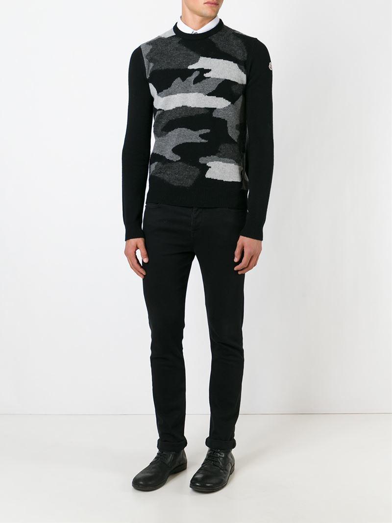 moncler black jumper