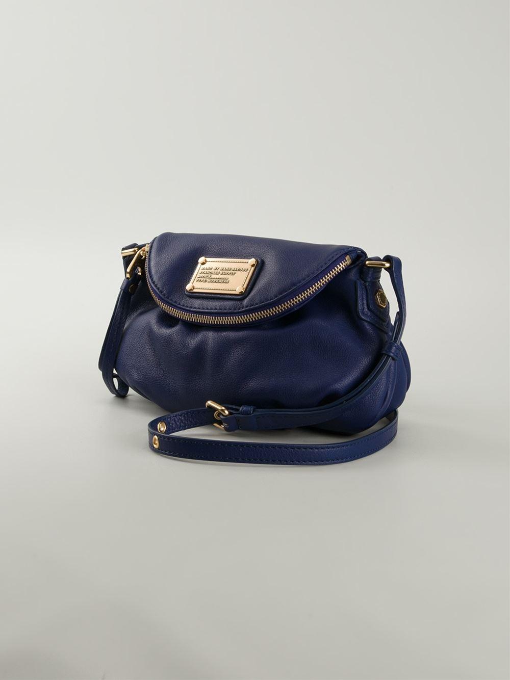 71a4980fa607 Lyst Marc By Jacobs Clic Q Mini Natasha Crossbody Bag In
