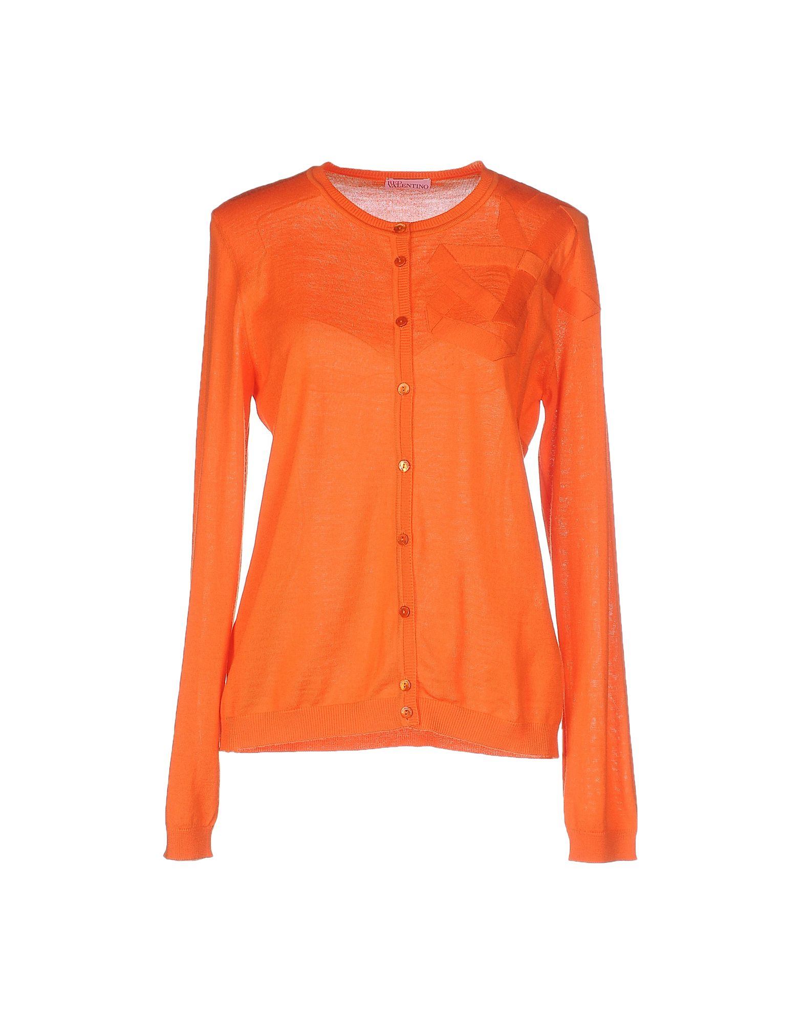Red valentino Cardigan in Orange | Lyst