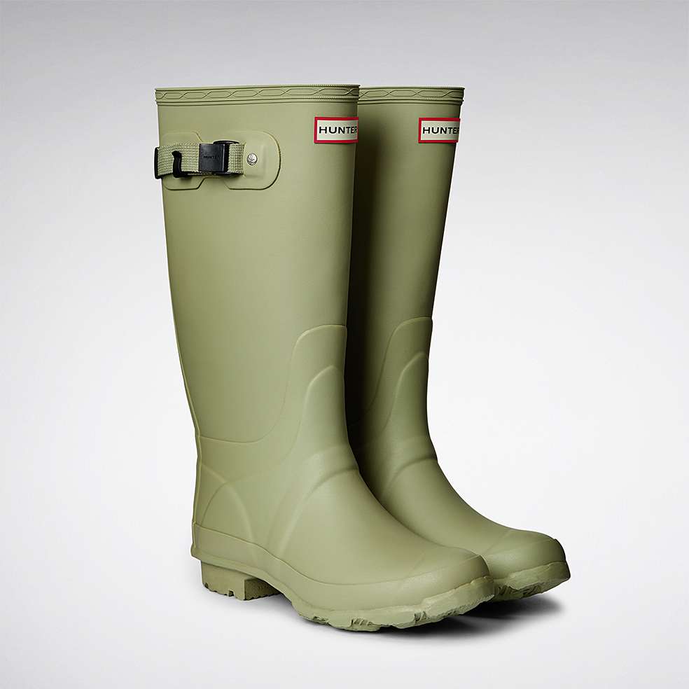 Lyst Hunter Huntress Rain Boots In Green