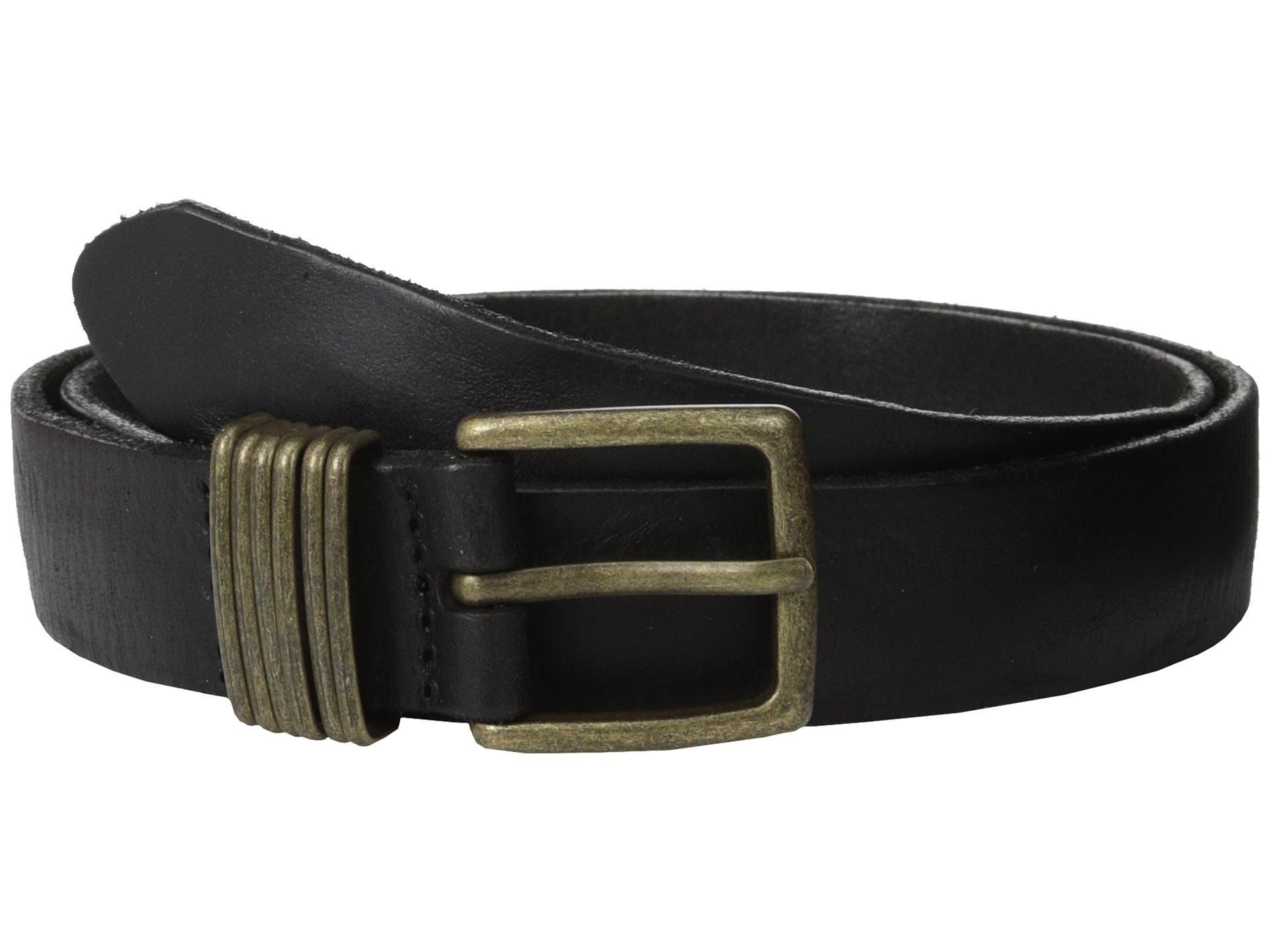 liebeskind lkb635 vintage leather belt in black lyst