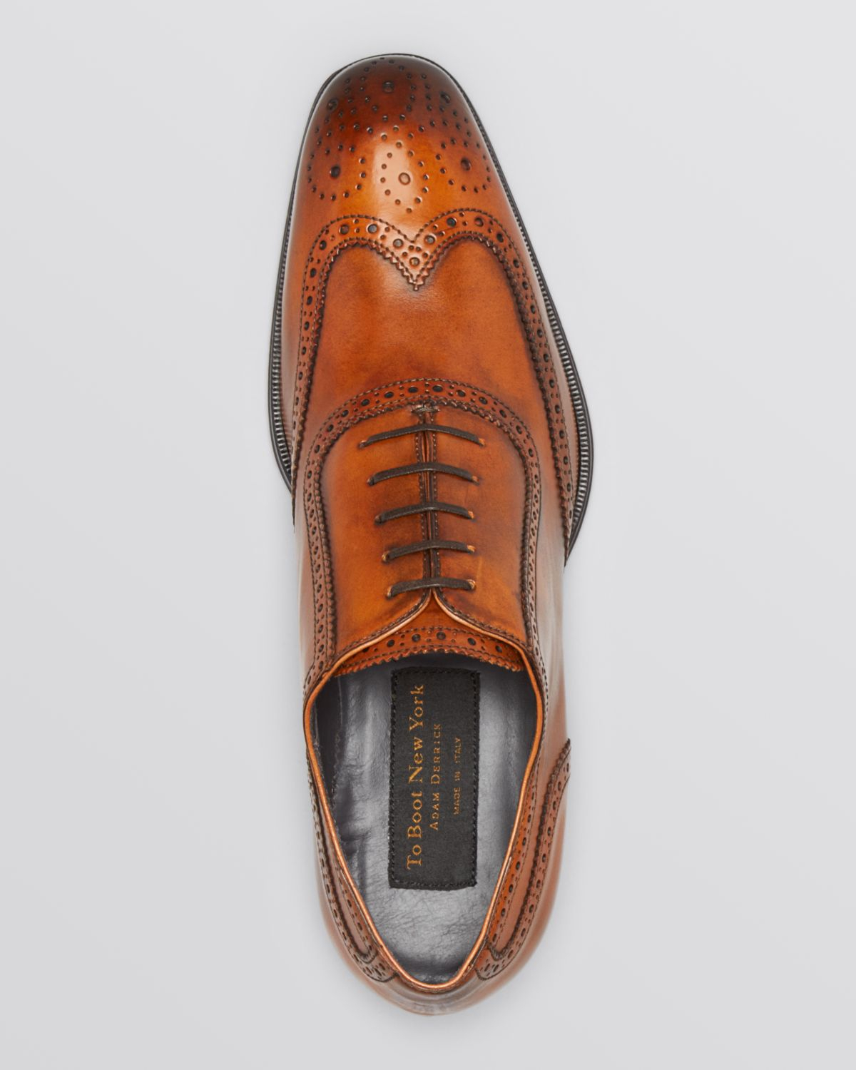 Lyst To Boot Duke Wingtip Oxfords In Brown For Men