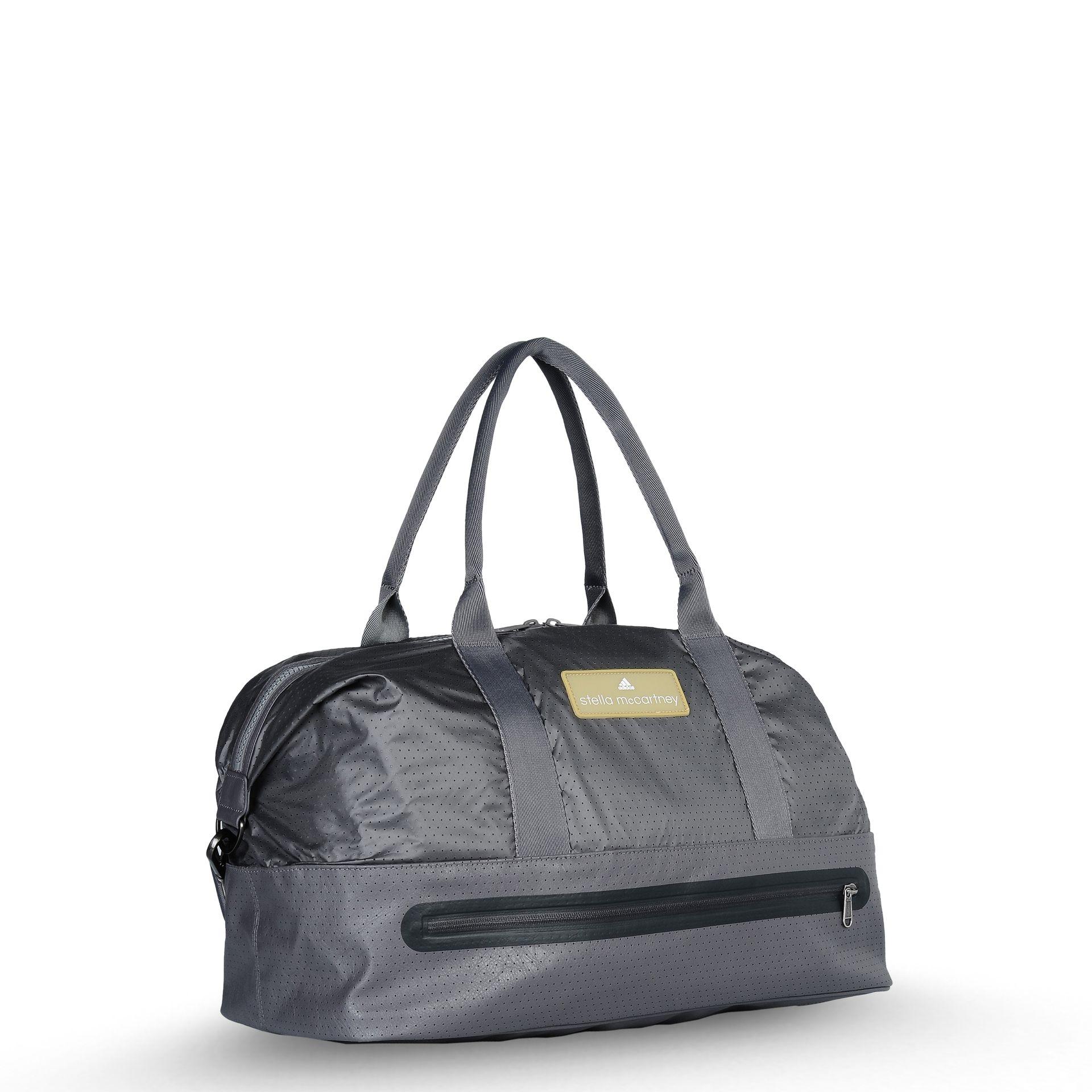 lyst stella mccartney big sports bag in gray. Black Bedroom Furniture Sets. Home Design Ideas