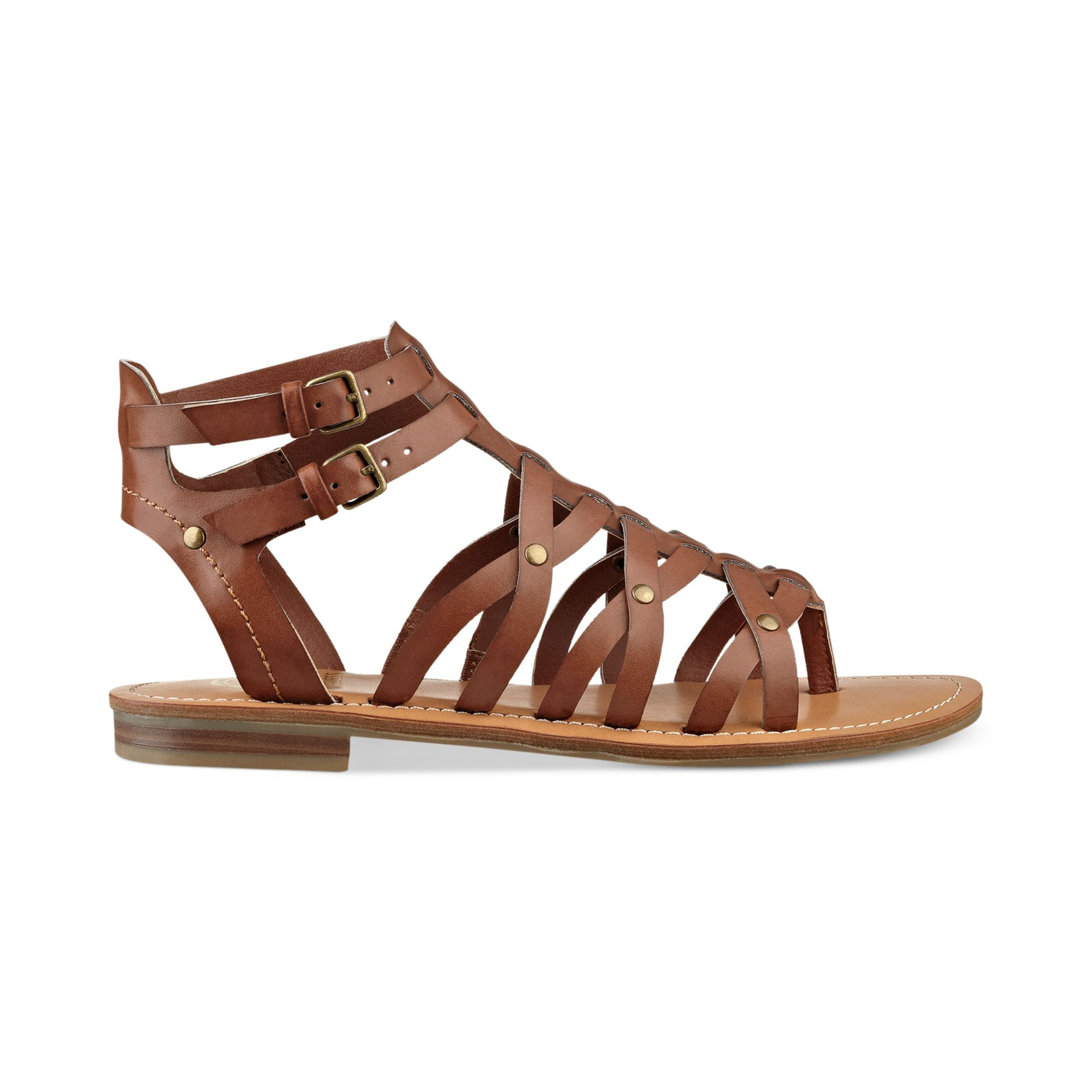 Lyst G By Guess Womens Harlaa Gladiator Flat Sandals In