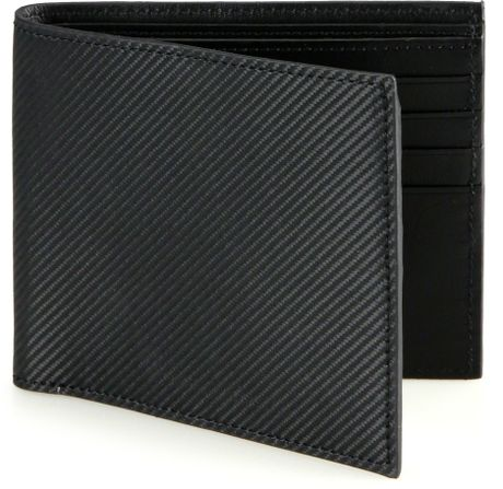 Saks Fifth Avenue Collection Carbon Fiber Bifold Wallet In