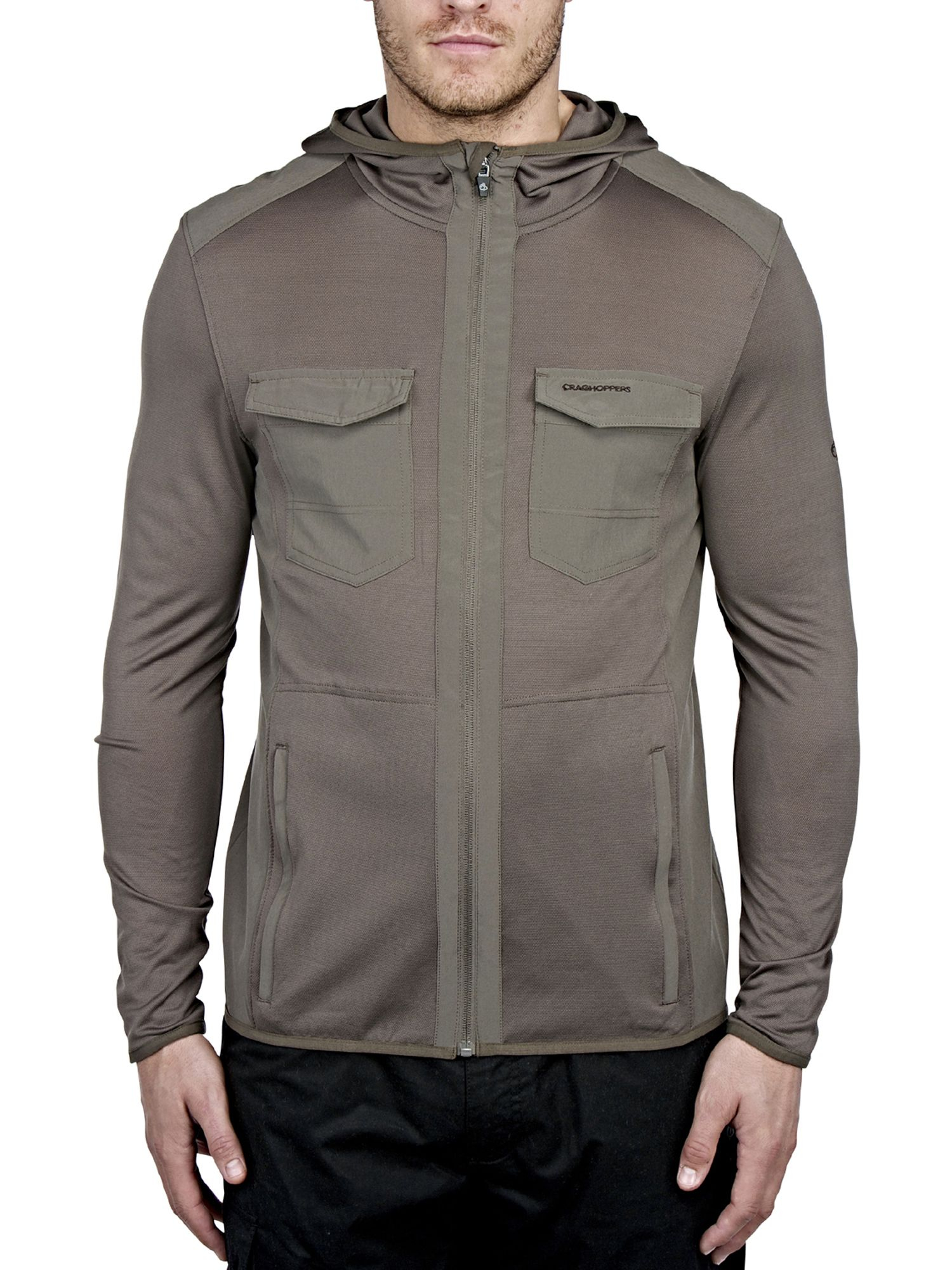 Craghoppers Synthetic Nosilife Chima Jacket in Green (Grey) for Men
