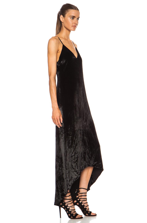 Long rayon tank dress