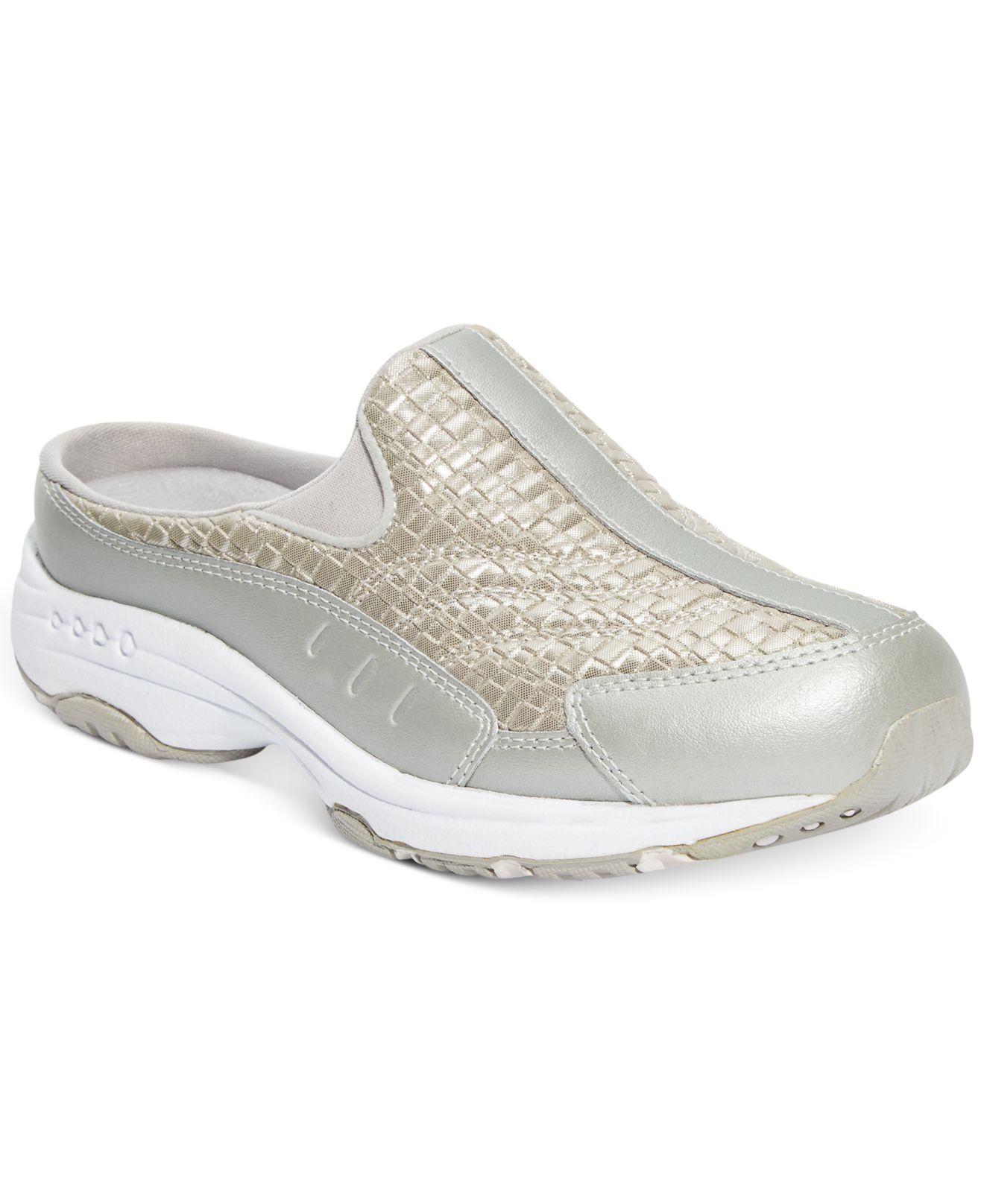 Easy Spirit Traveltime Sneakers In Metallic Lyst