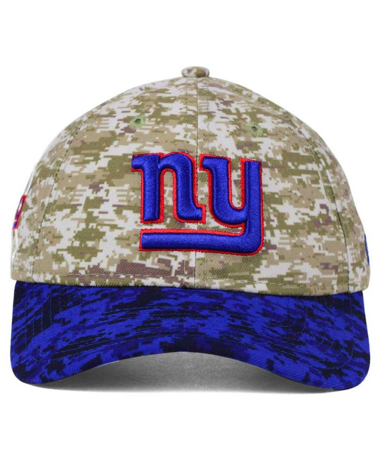 a2384a34726 ... new style snapback hat lyst ktz womens new york giants salute to service  9twenty cap in