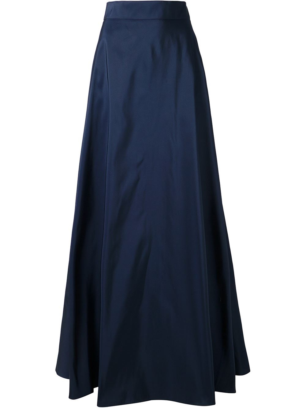 rosie assoulin a line skirt in blue lyst