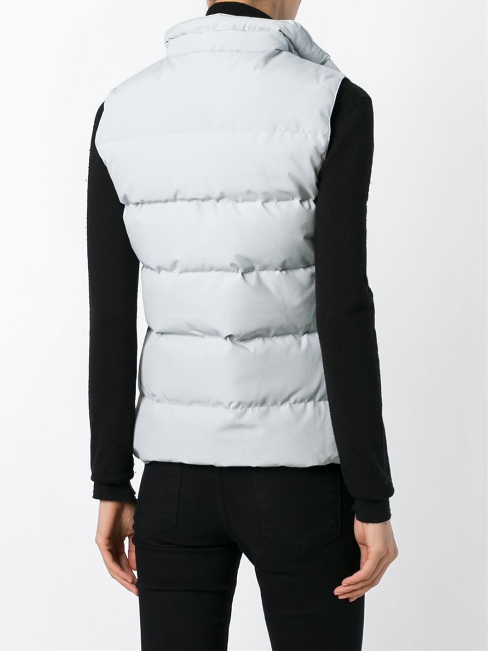 Canada Goose Freestyle Quilted Down Vest In Gray Grey Lyst