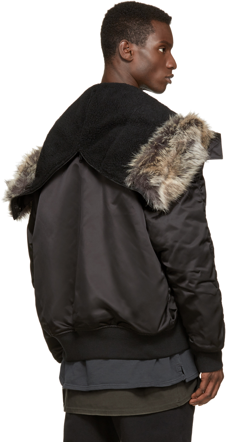 Yeezy Faux fur in Black for Men Lyst