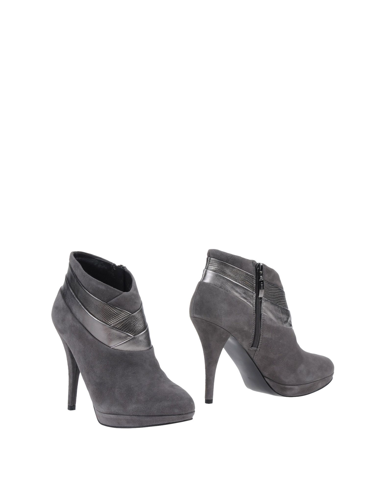 guess shoe boots in gray lyst
