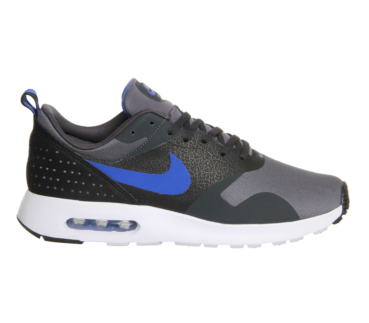 nike air max tavas in black for men grey lyst. Black Bedroom Furniture Sets. Home Design Ideas