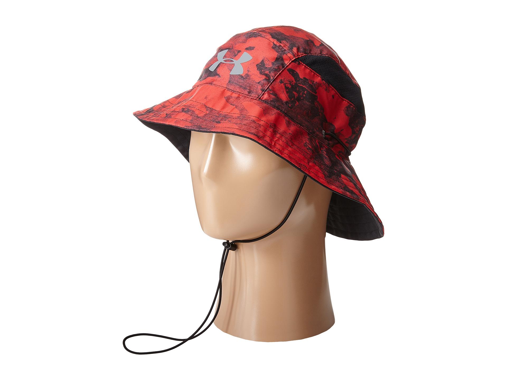 a3d31fd17 Men's Red Ua Switchback Training Bucket Hat