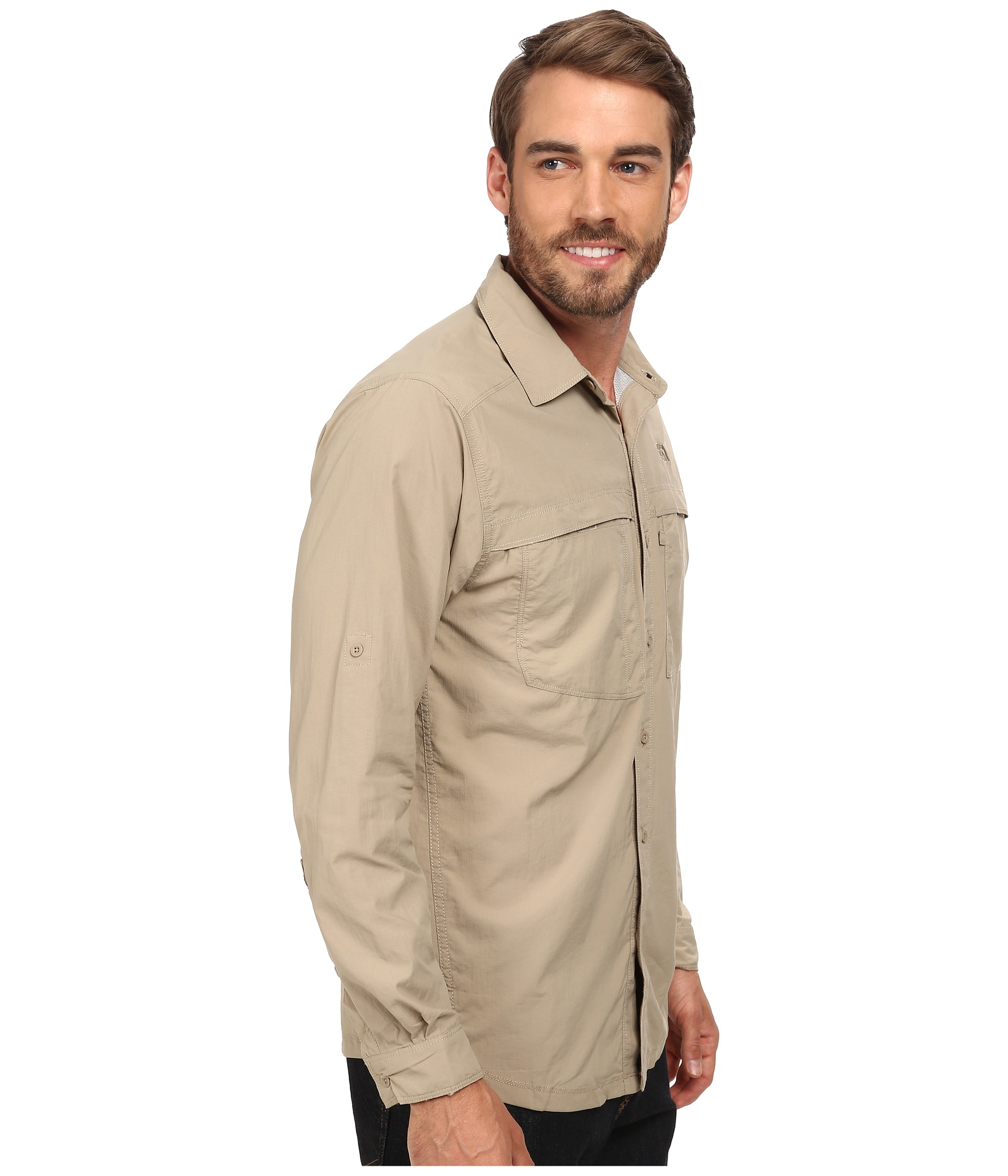 b5127ca8e54 Lyst - The North Face Long Sleeve Cool Horizon Shirt in Natural for Men
