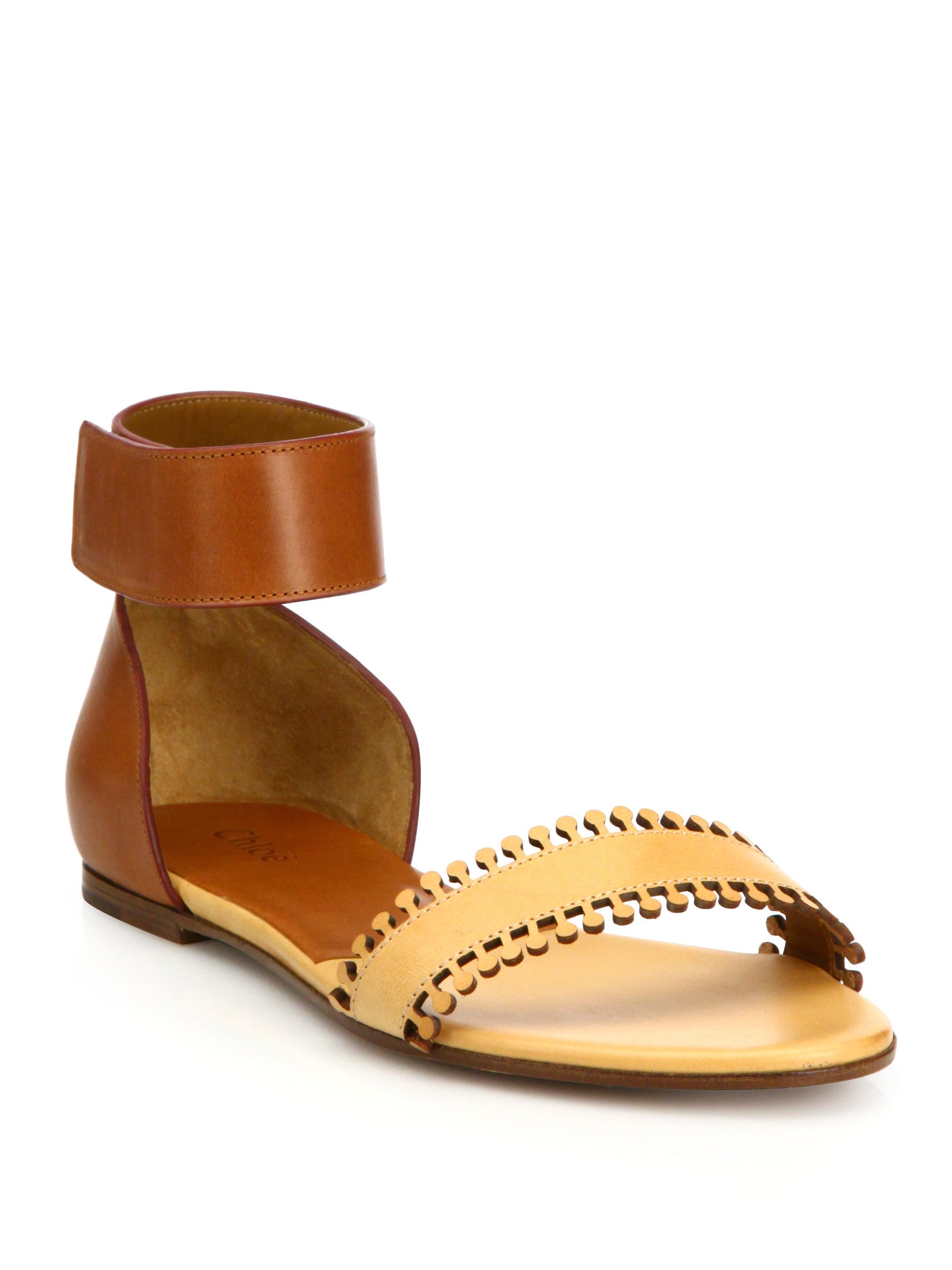 Chloé Scalloped flat sandals RqhHQNH