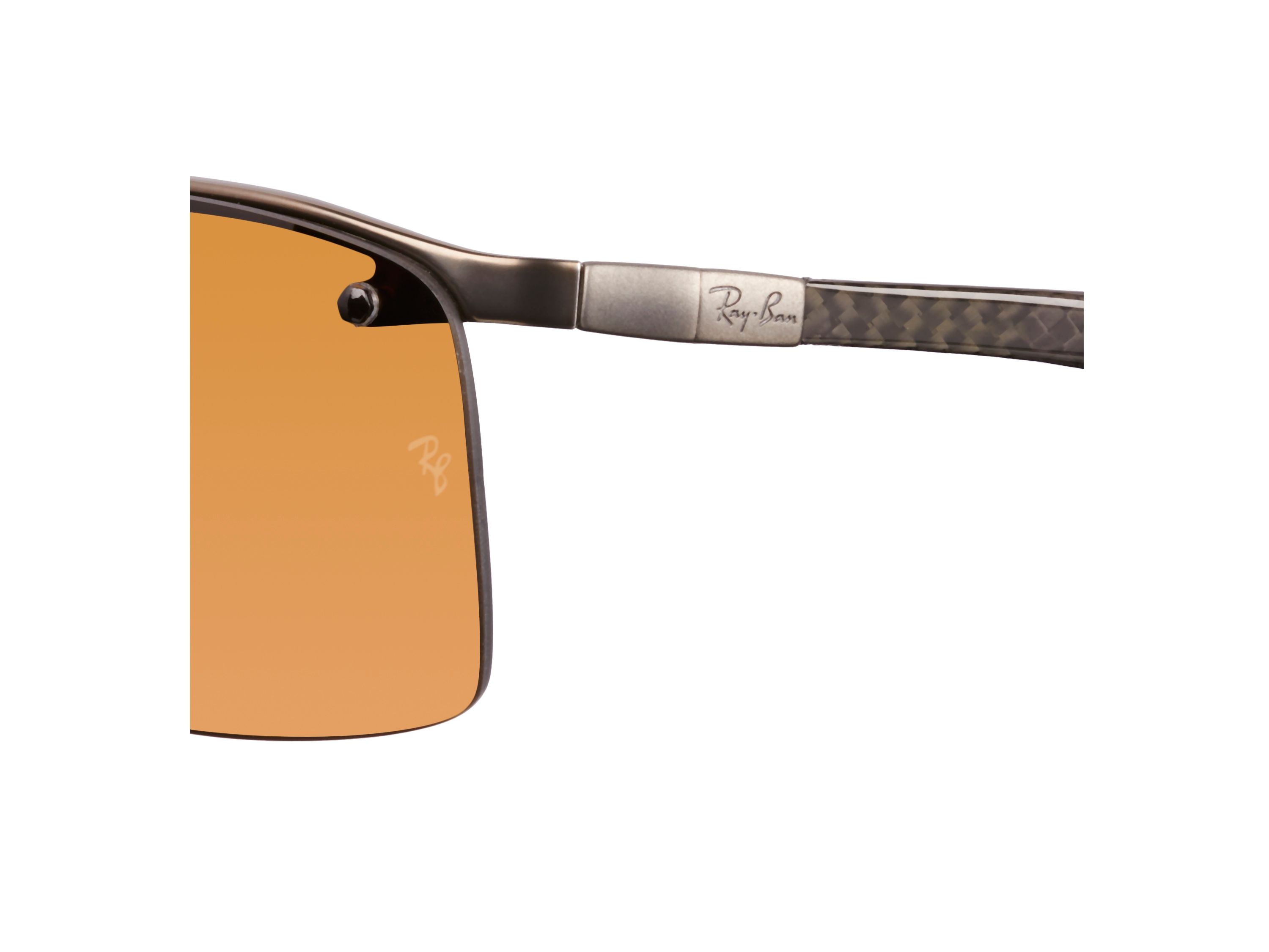 Ray-Ban Rb8315 Men`s Rectangle Sunglasses in Grey for Men