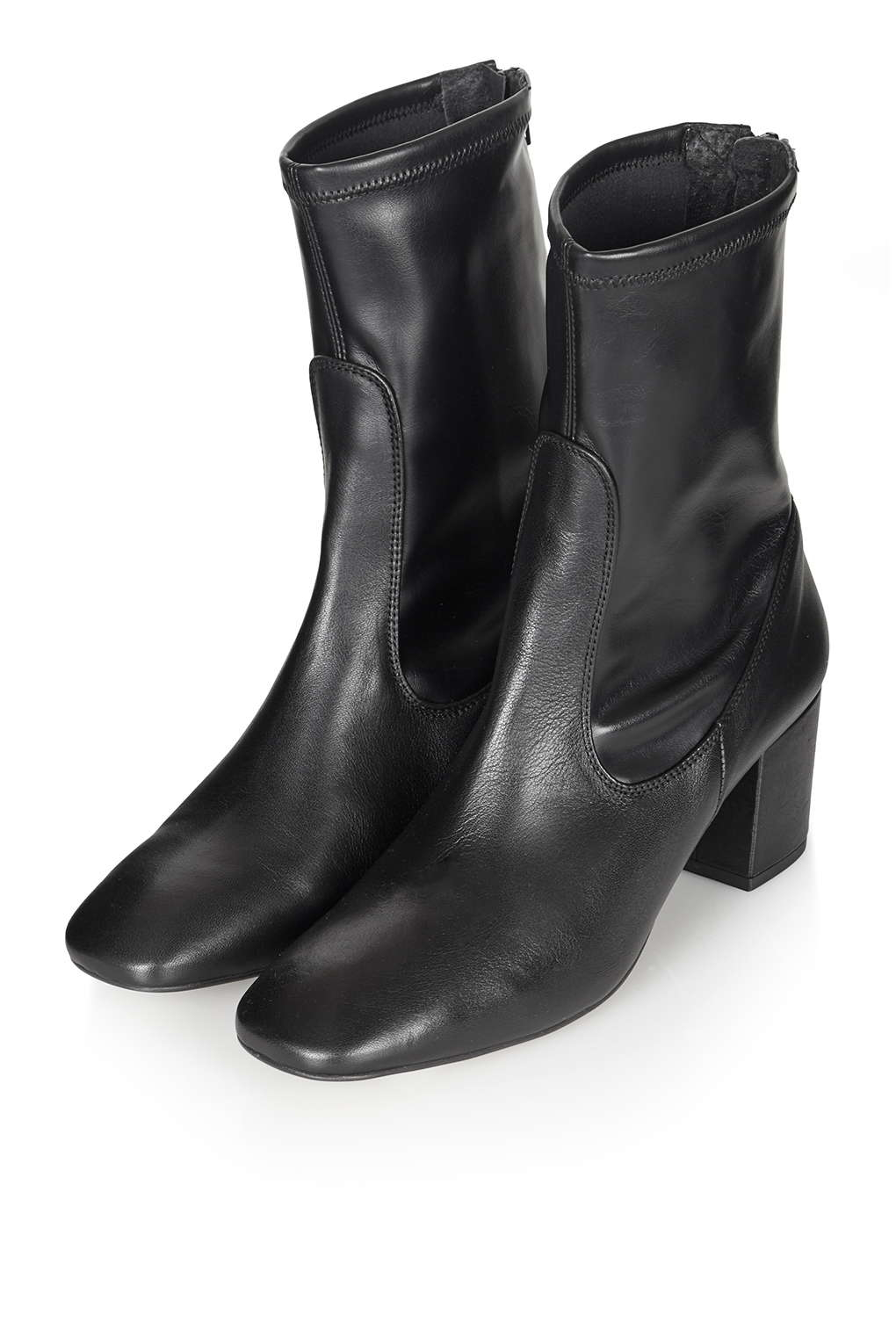 Topshop Monkey Skinny Ankle Boots In Black Lyst