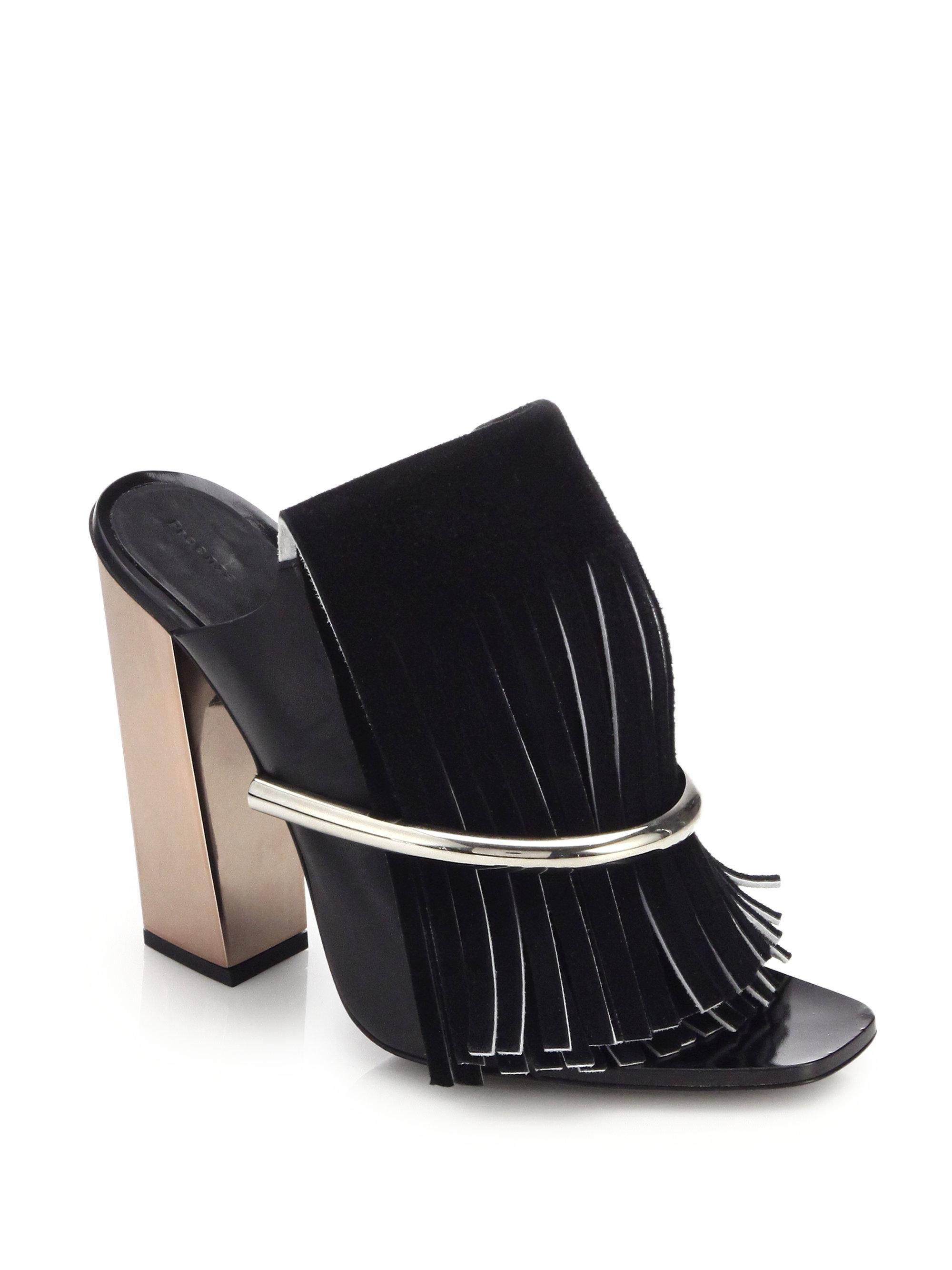Proenza Schouler Suede Sandals
