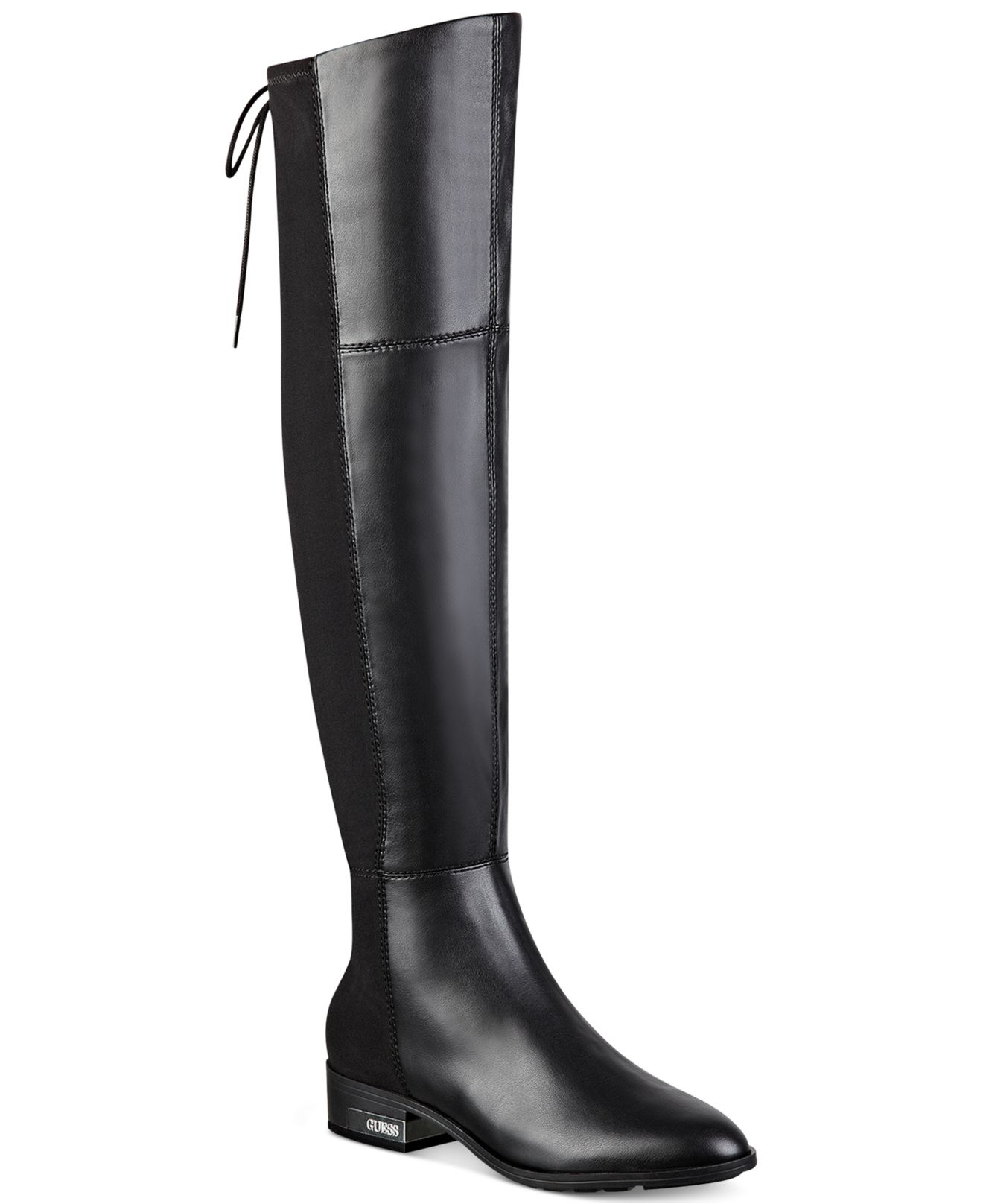 Zoe Over-the-knee Boots in Black