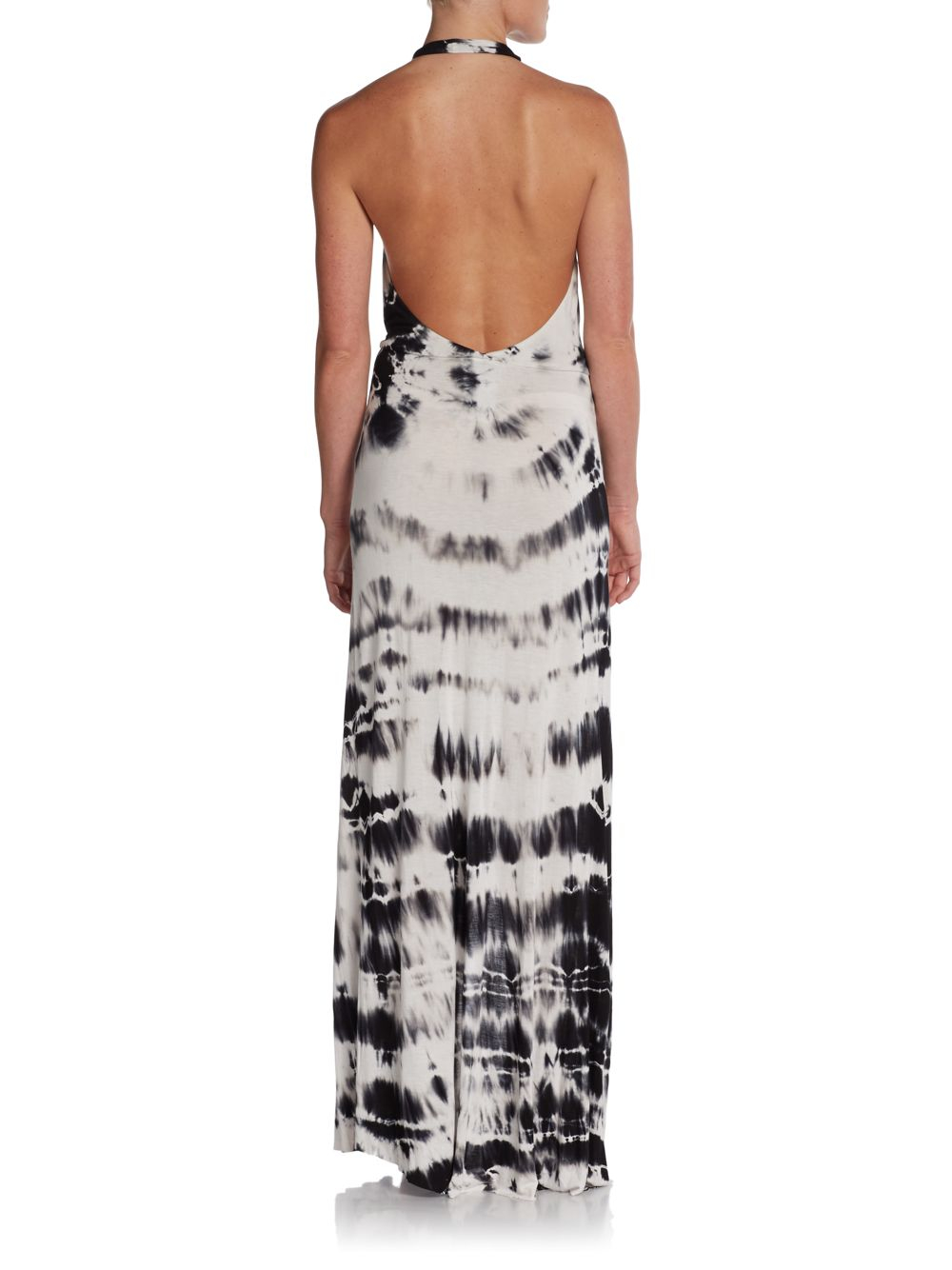 Lyst Young Fabulous Amp Broke Jackie Tiedyed Halter Maxi