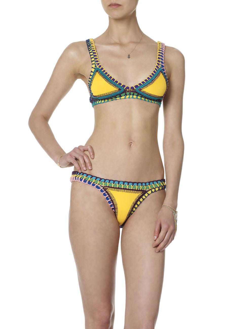 Crochet Trim Bikini : Crochet Bikinis