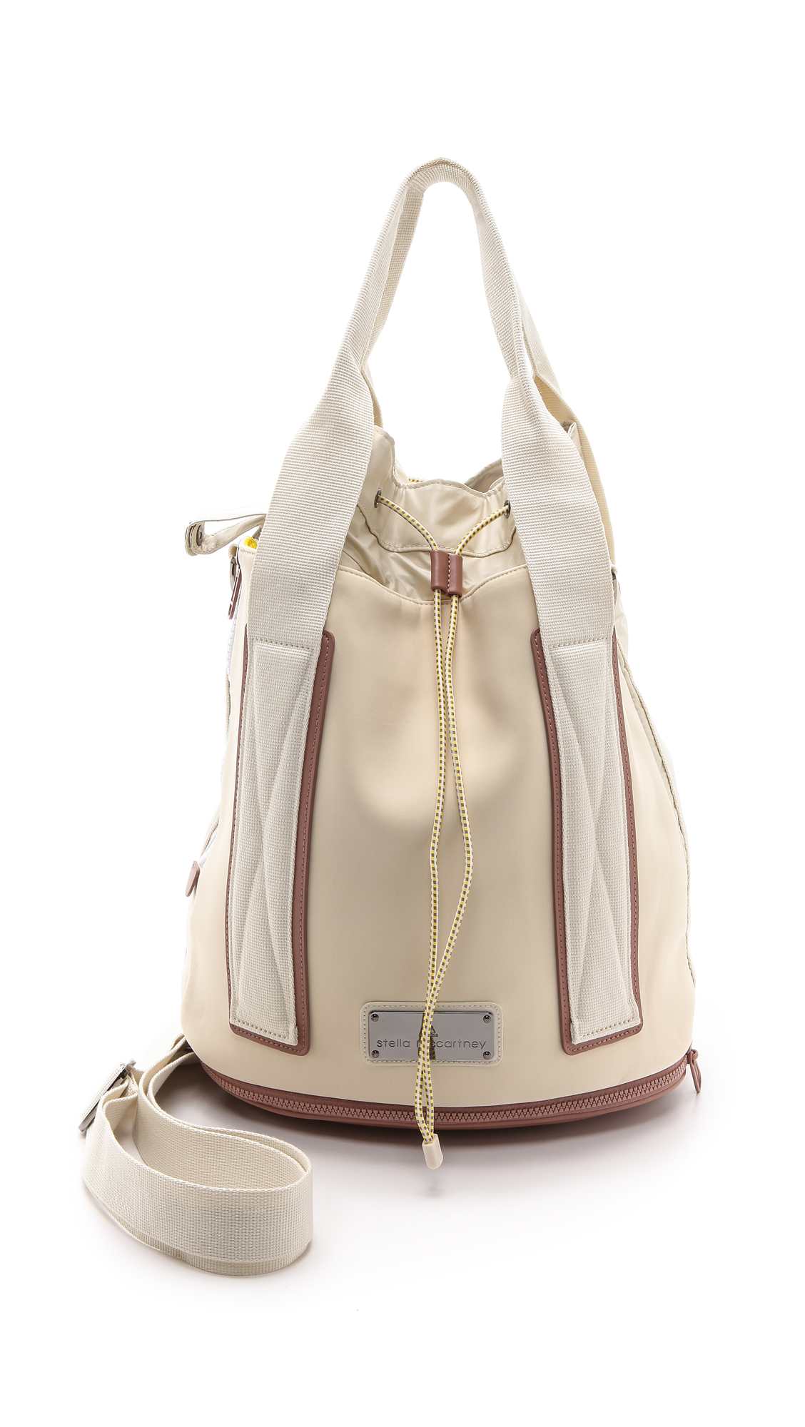 d52b2c7e6a Lyst - adidas By Stella McCartney Tennis Bag - White Vapourgun Metal ...