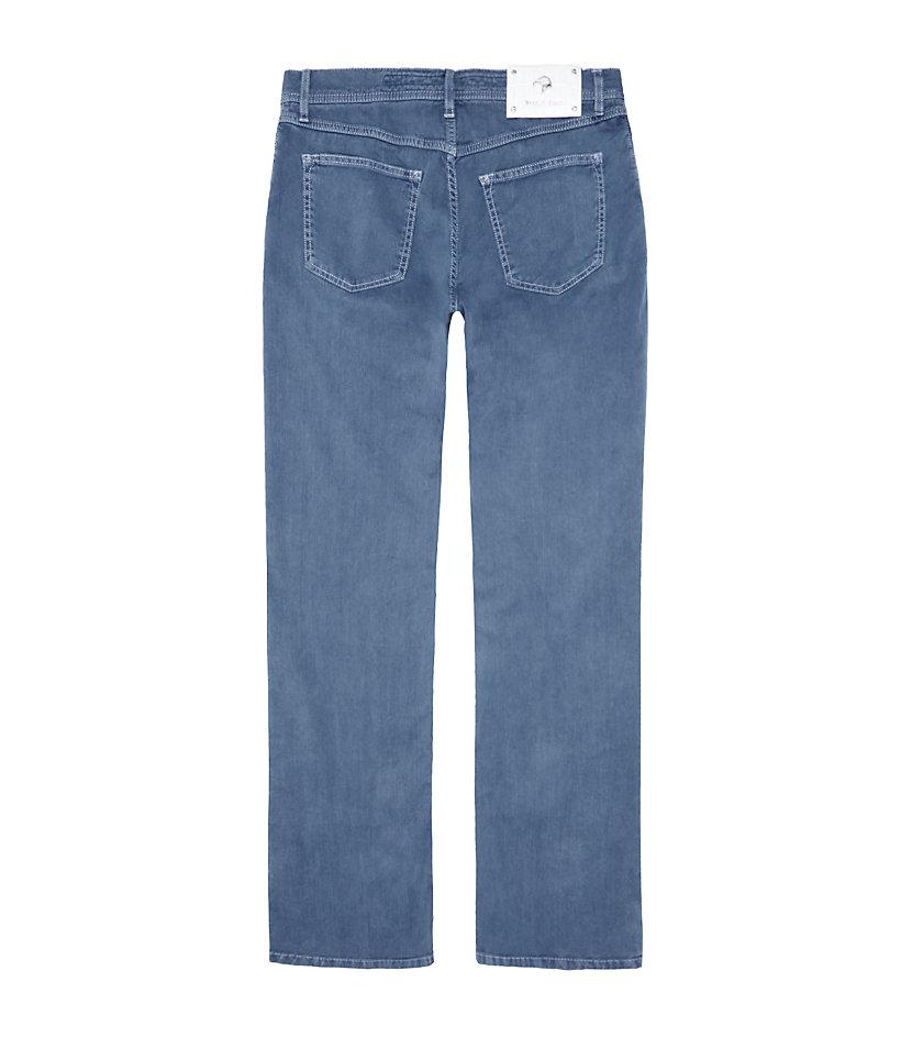 Stefano Ricci Linenblend Regular Fit Jeans in Silver (Blue) for Men