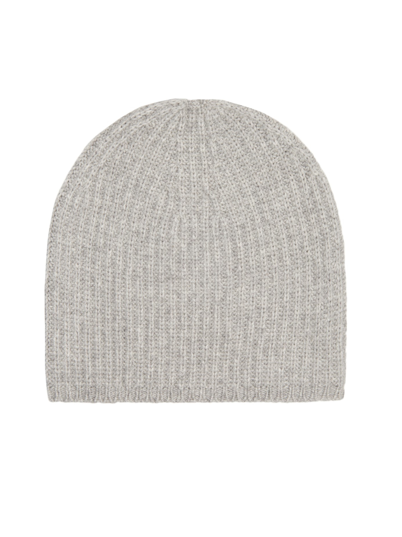 Denis colomb Ribbed-knit Cashmere Beanie Hat in Gray