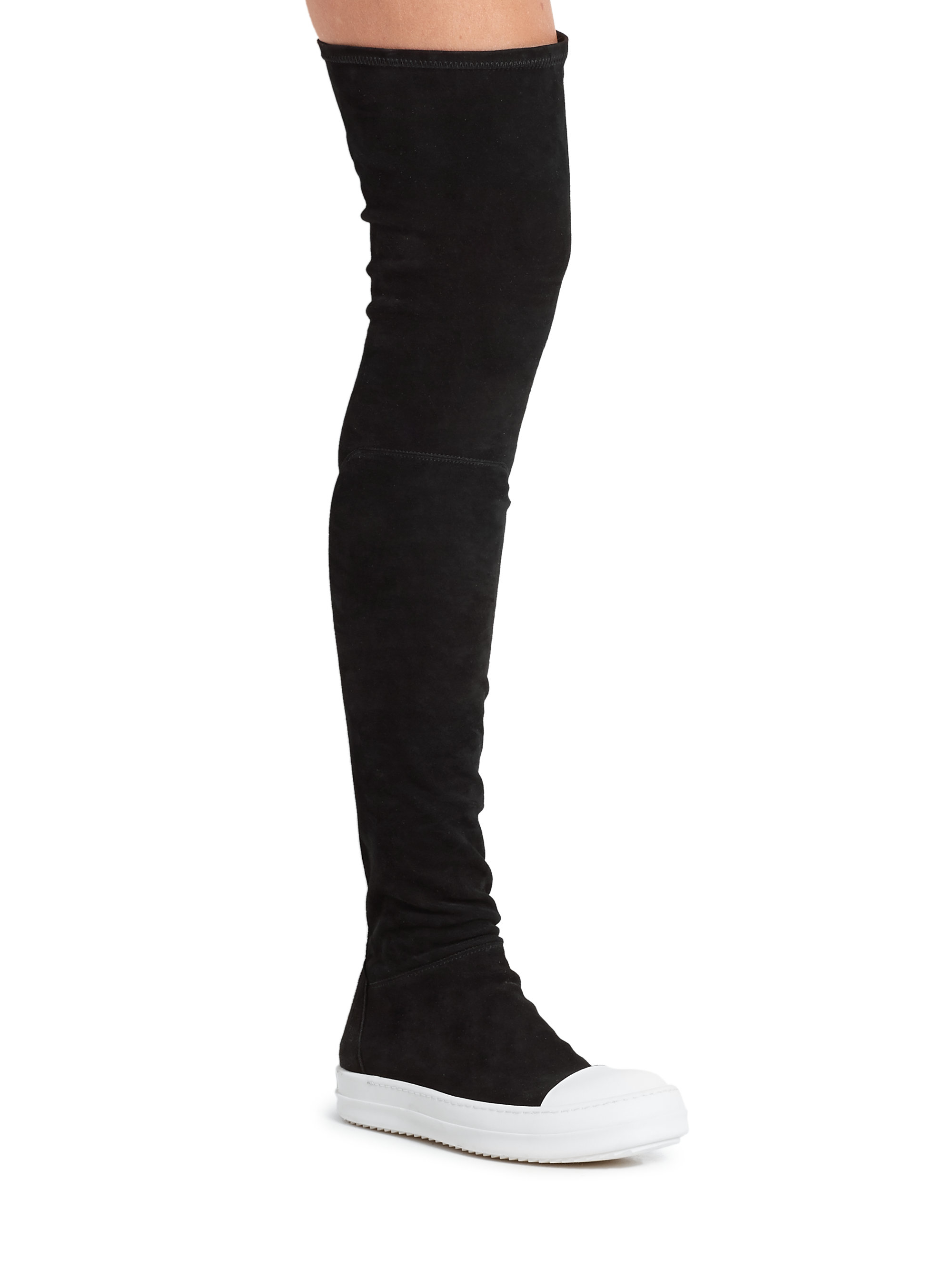 Sale Cheap Online Official Site Cheap Price Sock boots - Black Rick Owens With Paypal Cheap Online Buy Cheap Manchester Discount Cheapest NLqIXvIHK