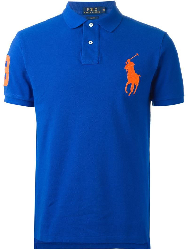 Lyst Shirt Blue For Men In Lauren Pony' Polo Ralph 'big xrCBoed
