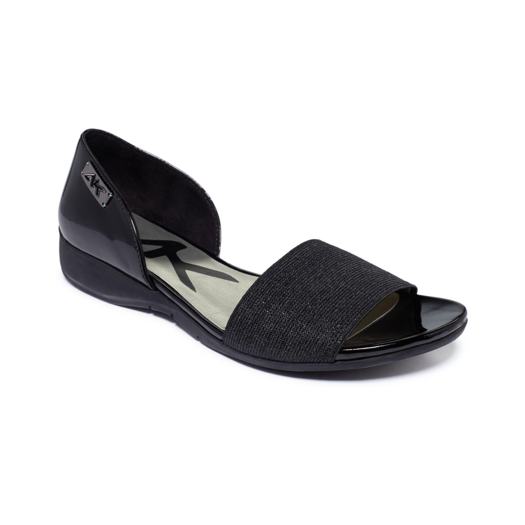 Lyst Anne Klein Keasha Sport Sandals In Black