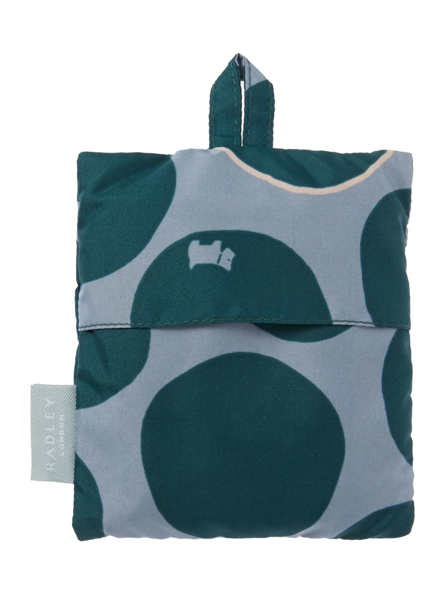 Radley Spot On Green Foldaway Tote Bag