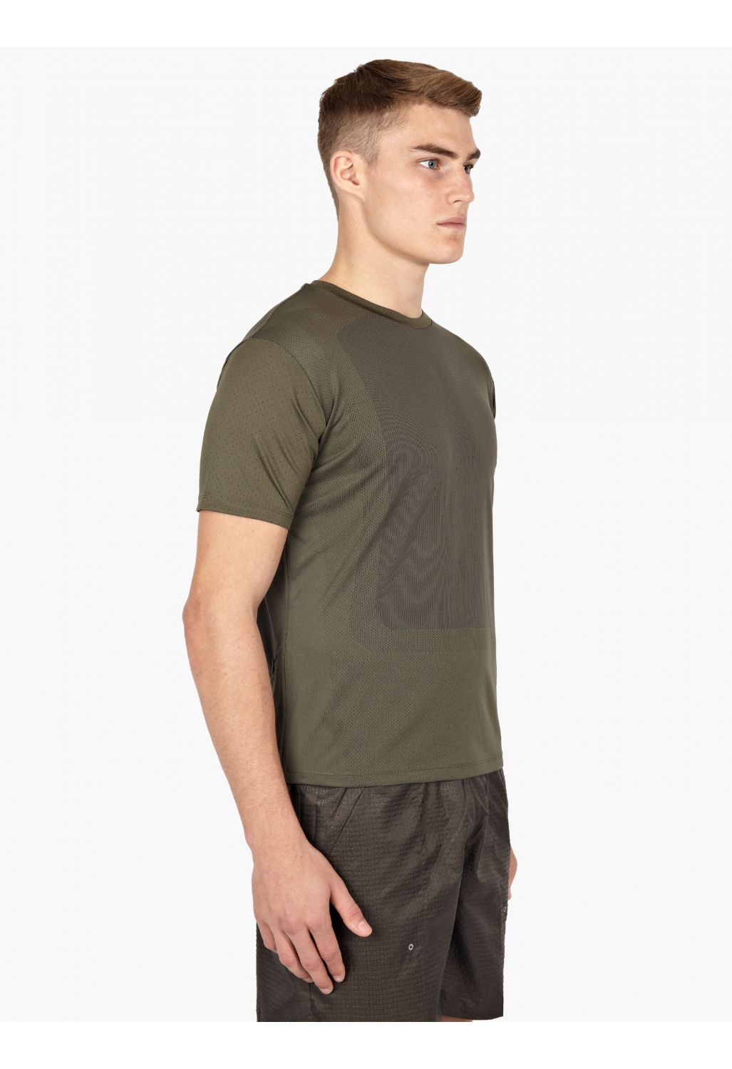 Nike X Undercover Gyakusou Mens Olive Dri Fit Sweat Map