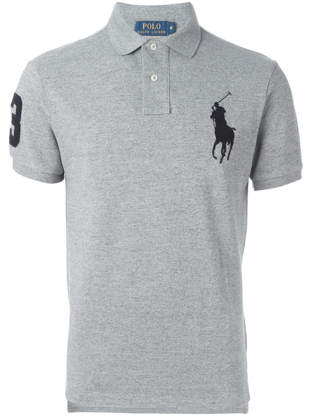 Polo Ralph Lauren Embroidered Logo Short Sleeve Polo Shirt