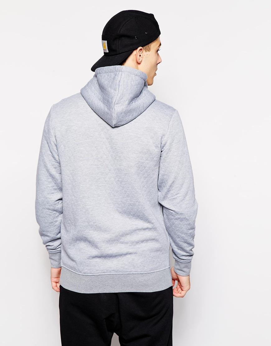 Jack jones quilted hoodie