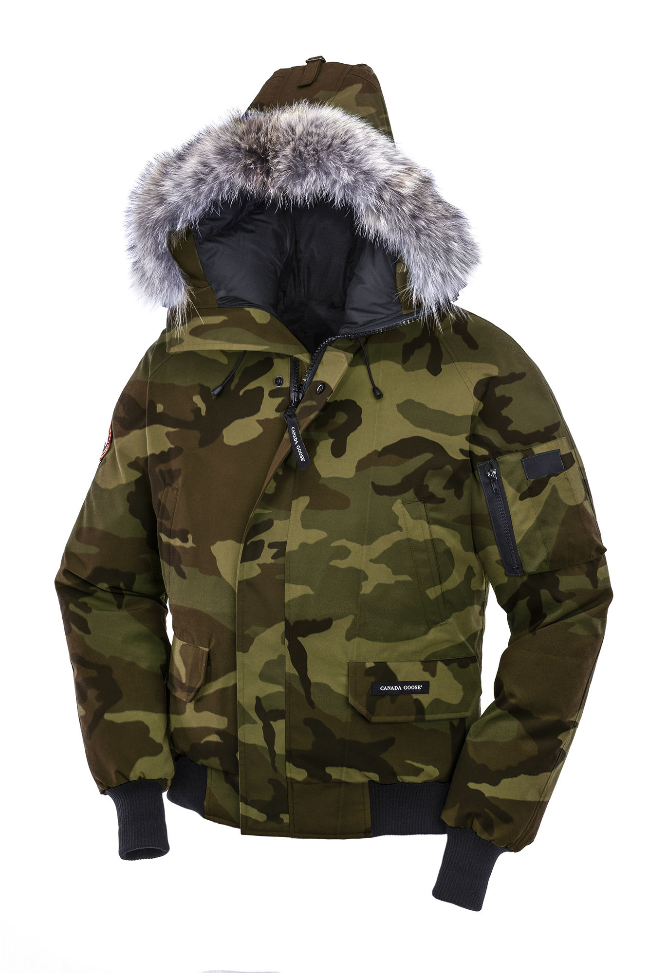 Canada Goose jackets sale fake - Canada goose Chilliwack Bomber in Green for Men (Classic Camo)   Lyst