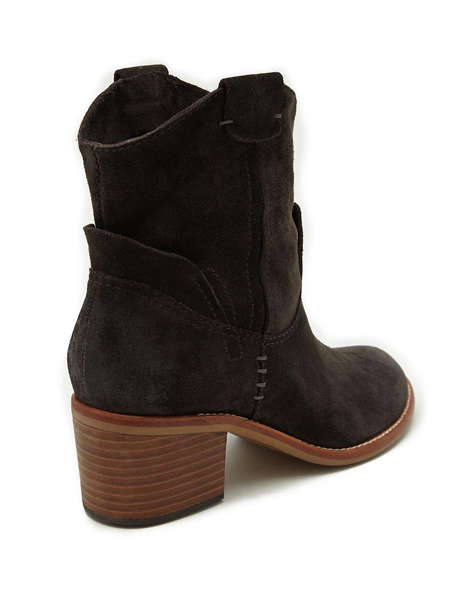 dolce vita grayden suede ankle boots lyst